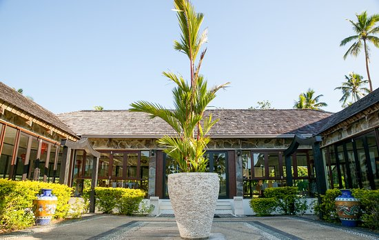 Bamboo restaurant at the naviti resort picture of bamboo for Terrace 45 restaurant