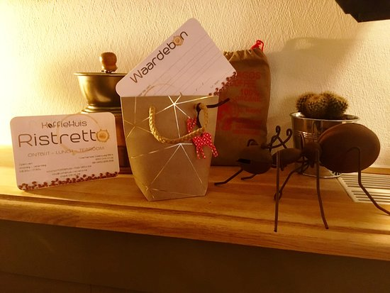 Koffiehuis Ristretto: Cadeaubonnen te krijgen.