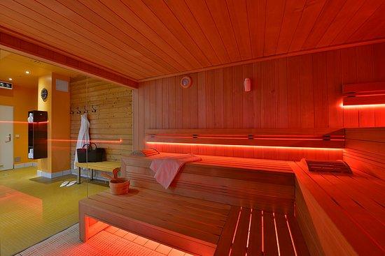 The Monarch Hotel: Wunderschöne Sauna