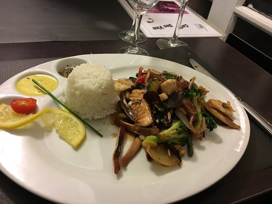 Mixed Seafood Tender And Delicious Picture Of La Louviere