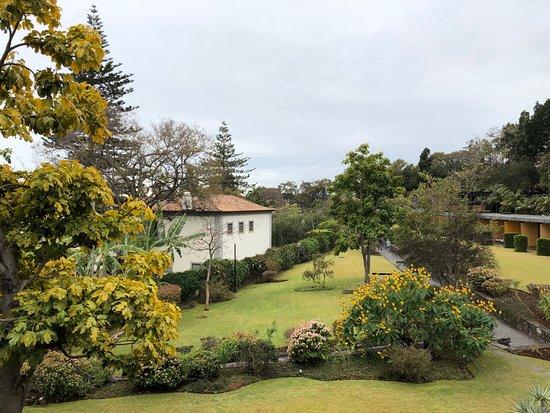 Quinta da Casa Branca: Blick aus unserem Zimmer in die wundervolle Gartenanlage