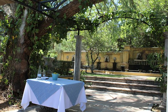 Franschhoek Country House & Villas: Lunch Setting