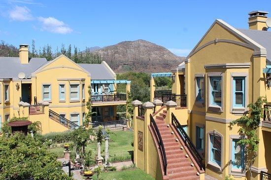 Franschhoek Country House & Villas: Main Villas around a central courtyard