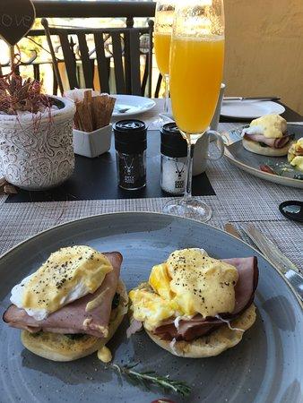 Franschhoek Country House & Villas: Breakfast