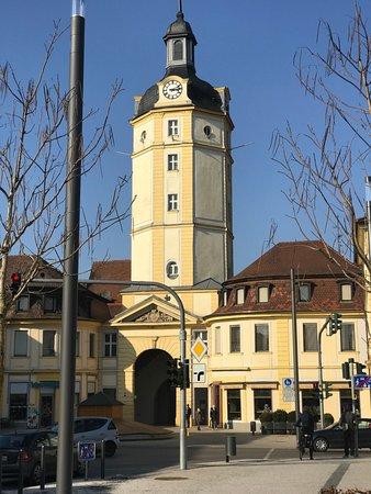 Ansbach, Allemagne : Ansicht von der Maximilianstraße