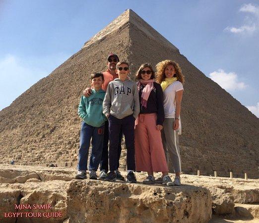 Our Photos AT Giza Pyramids