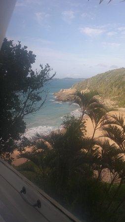Caravelas Beach : vista do quarto do hotel