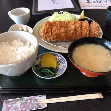 Tonosho-machi, Japan: 美味いトンカツ食べたいならここ。