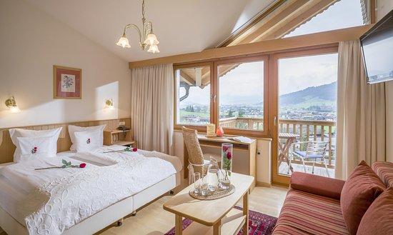 Oberndorf, Østrig: Schlafzimmer Wohnung Kitzbühel zum Wohlfühlen