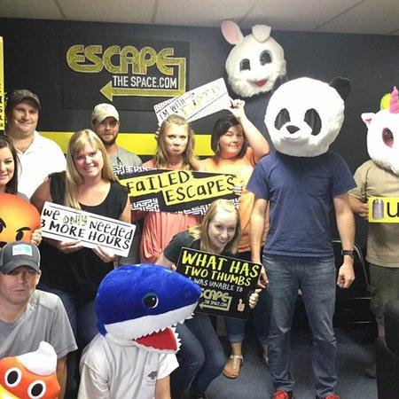 Atenas, GA: Fun at Escape The Space