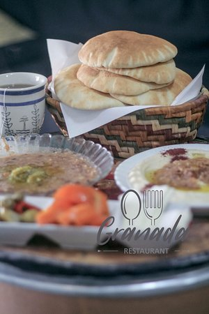Birzeit, Palestinian Territories: #foul #labanh #tomato #avocado #humous