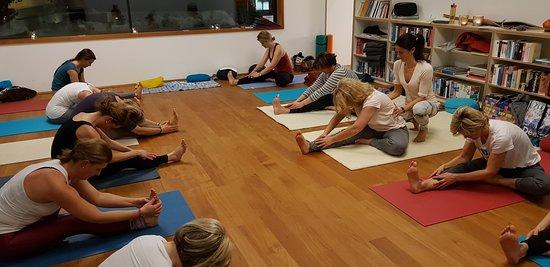 Valavier Aktivresort: Yogastunde im Valavier