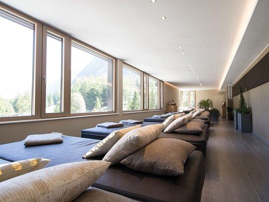Valavier Aktivresort: Einer der vielen Ruheräume im 3500 m² Wellnessbreich