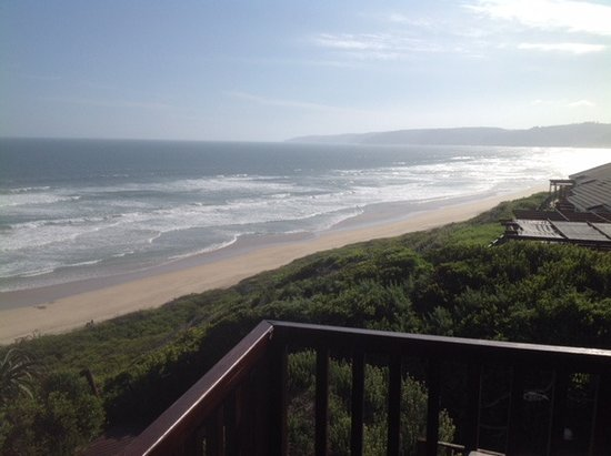 Dolphin Dunes Guesthouse: view from the balcony