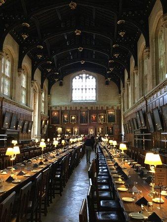 salle de banquet オックスフォード クライストチャーチ カレッジの