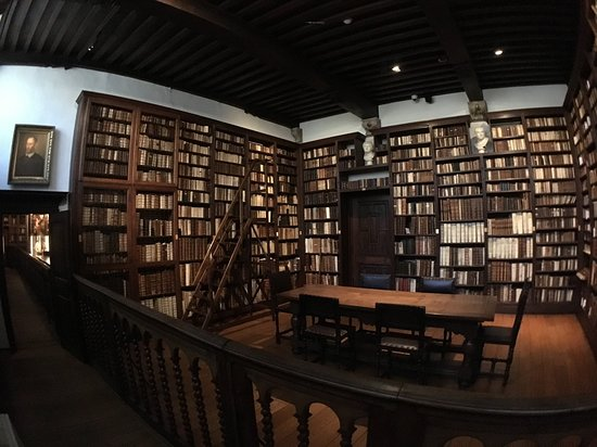 Museu Plantin-Moretus: Bibliothèque