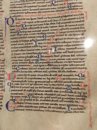Museu Plantin-Moretus: Bible manuscrite XIIè