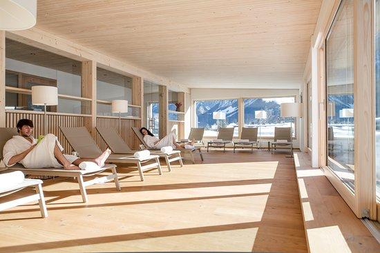 Hubertus Mellau panorama sauna hotel hubertus mellau - picture of hotel hubertus