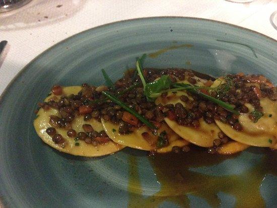 Wigi's Kitchen : Lamb ravioli with lentil ragu - amazing!