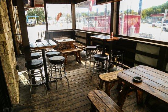 Corner Bar: One Of 2 Patios