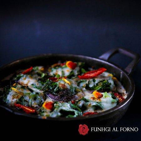 Romeo y Julieta: FUNGHI AL FORNO