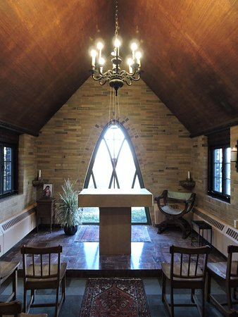 Spencer, MA: The Chapel inside the retreat house