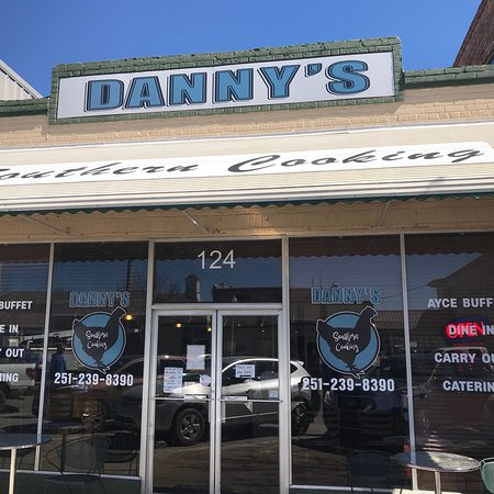 Bay Minette, AL: This is no longer the sugar kettle café, it is now Dannys Southern cooking