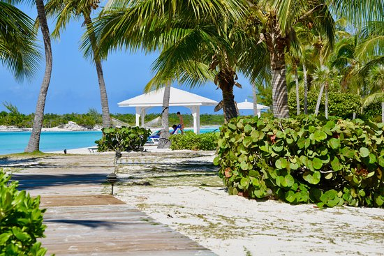 Cape Santa Maria Beach Resort & Villas: Our boardwalk winds along the beach and provides the perfect route for a morning stroll