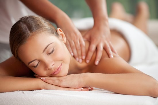 St. Gallen, Schweiz: back massage