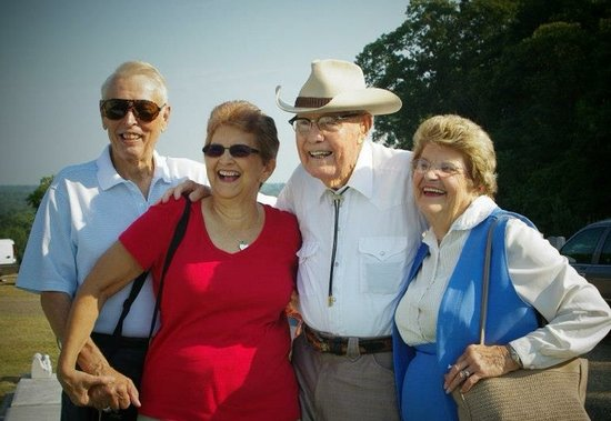 Hank Williams Memorial - Oakwood Annex Cemetery: Charles Carr, Martha Howell, Braxton Schuffert, Hazel Helm. Photo taken at Hank's bday celebrati