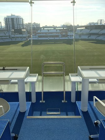 Lord's Cricket Ground : View from media centre