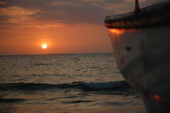 Rincon del Frances Rincon del Mar: tramanto davanti al rincon frances