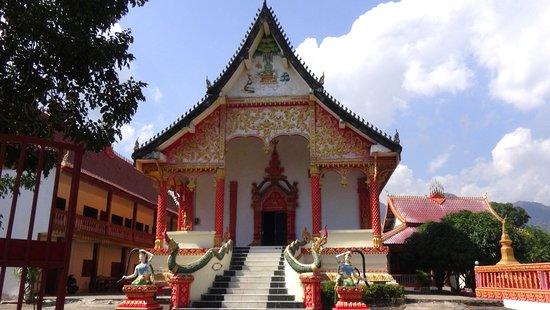 Vang Vieng, Laos: Le temple