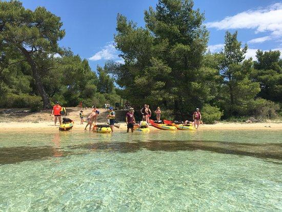 Vourvourou, Griechenland: Sea Kayak Halkidiki Full Day Trip