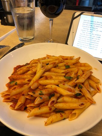 Lark Creek Grill: Spicy Penne Pasta dinner