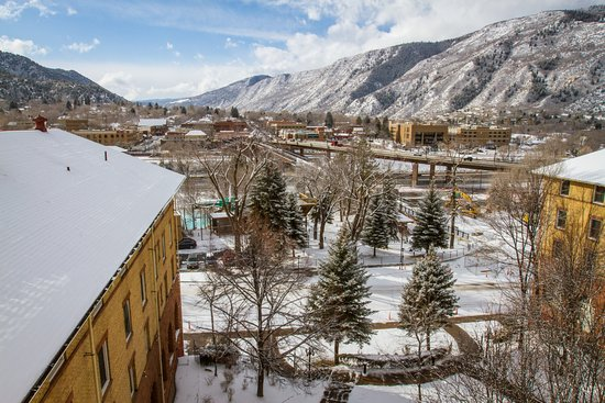 Hotel Colorado: View from the Bell Tower Suite