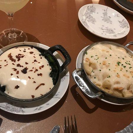 Oxon Hill, MD: Cream Spinach - Macroni & Cheese