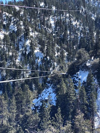 Wrightwood, Califórnia: This one run is 1000 feet long