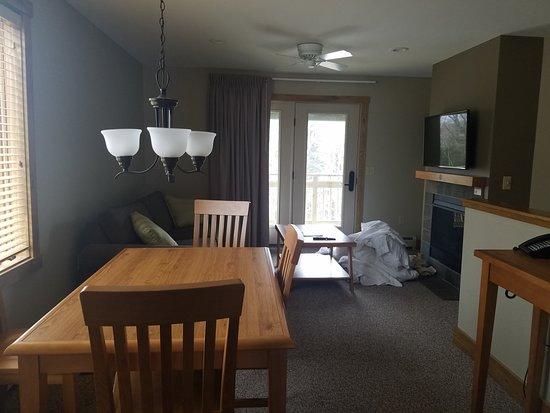 Jay Peak Resort: small but cozy