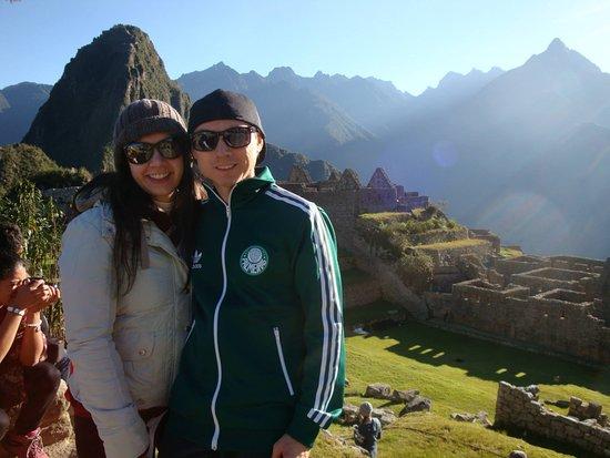 Qorianka Tours: Qorianka comprou meu ticket para Machu Picchu enquanto eu ainda estava no Brasil e deu tudo cert