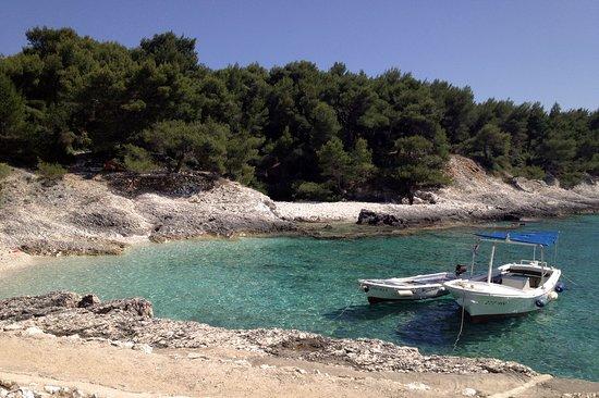 Hvar, كرواتيا: Mekicevica (Robinson) beach