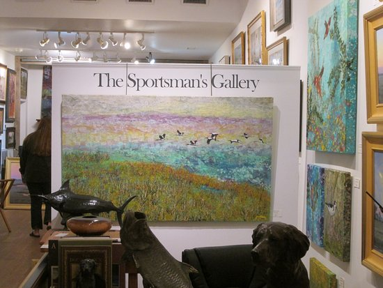 ‪The Sportsman's Gallery‬