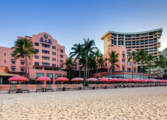 The Royal Hawaiian, A Luxury Collection Resort: We offer a luxurious setting right on Waikiki Beach