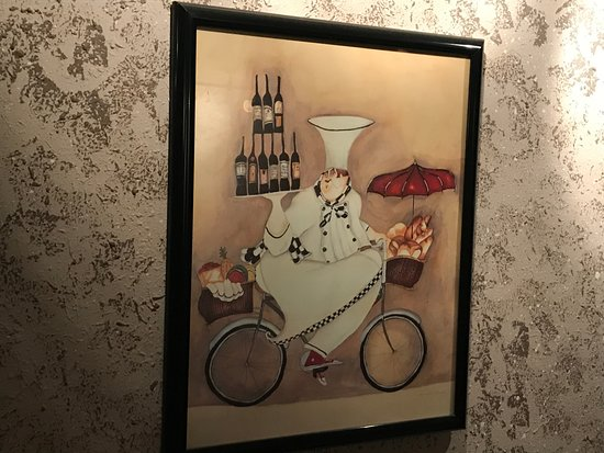 Serenity Bistro : very interesting wall picture