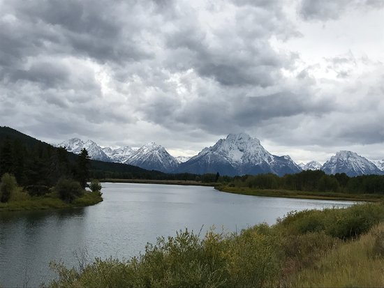 Jackson Hole, WY: beautiful view at Colter bay snake river