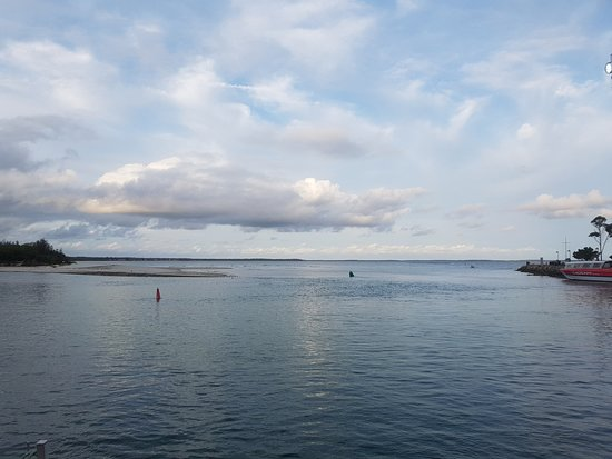 The amazing view of Jervis Bay