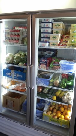 Fantastic dairy and fresh fruit And vegetables