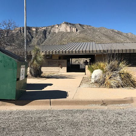 Guadalupe Mountains National Park, Teksas: McKittrick Canyon Visitor Center