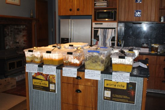 Food provided in containers