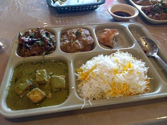 vegetarian combo plate picture of himalaya restaurant catering rh tripadvisor com